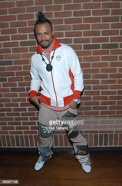 Black Eyed Peas member apldeap attends his group's Monkey Business Album Release Party at the Hudson Hotel June 7 2005 in New York City