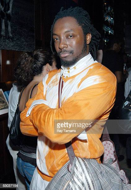 Black Eyed Peas member william attends his group's Monkey Business Album Release Party at the Hudson Hotel June 7 2005 in New York City