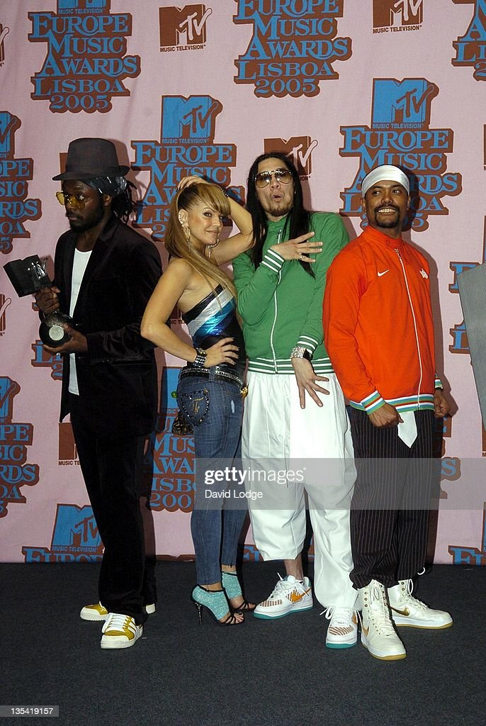 Black Eyed Peas, winners of Best Pop during 2005 MTV European Music Awards Lisbon - Press Room at Atlantic Pavillion in Lisbon, Portugal.