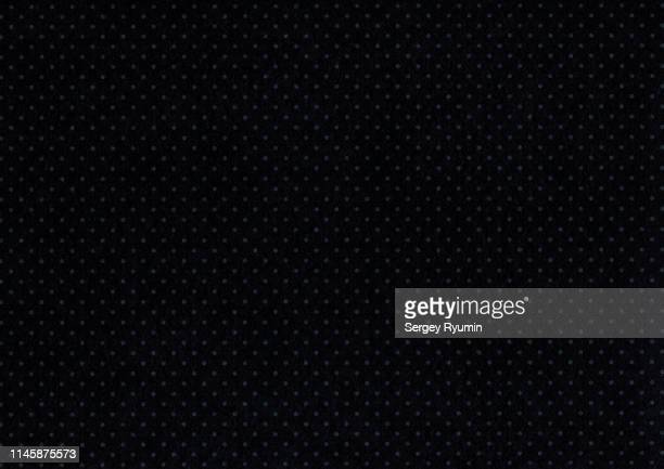 black felt polka dots as background - felt textile stock pictures, royalty-free photos & images