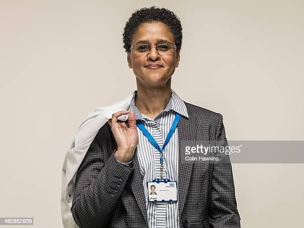 Black female health worker