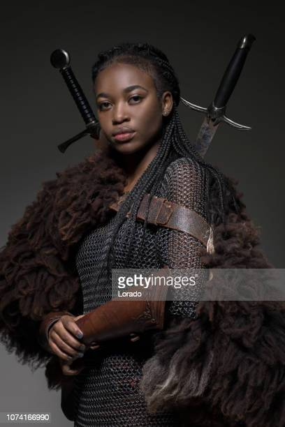 black female viking - black history month stock pictures, royalty-free photos & images