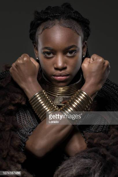 black female viking - black history stock photos and pictures