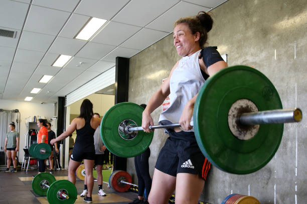 NZL: New Zealand Black Ferns Training Session