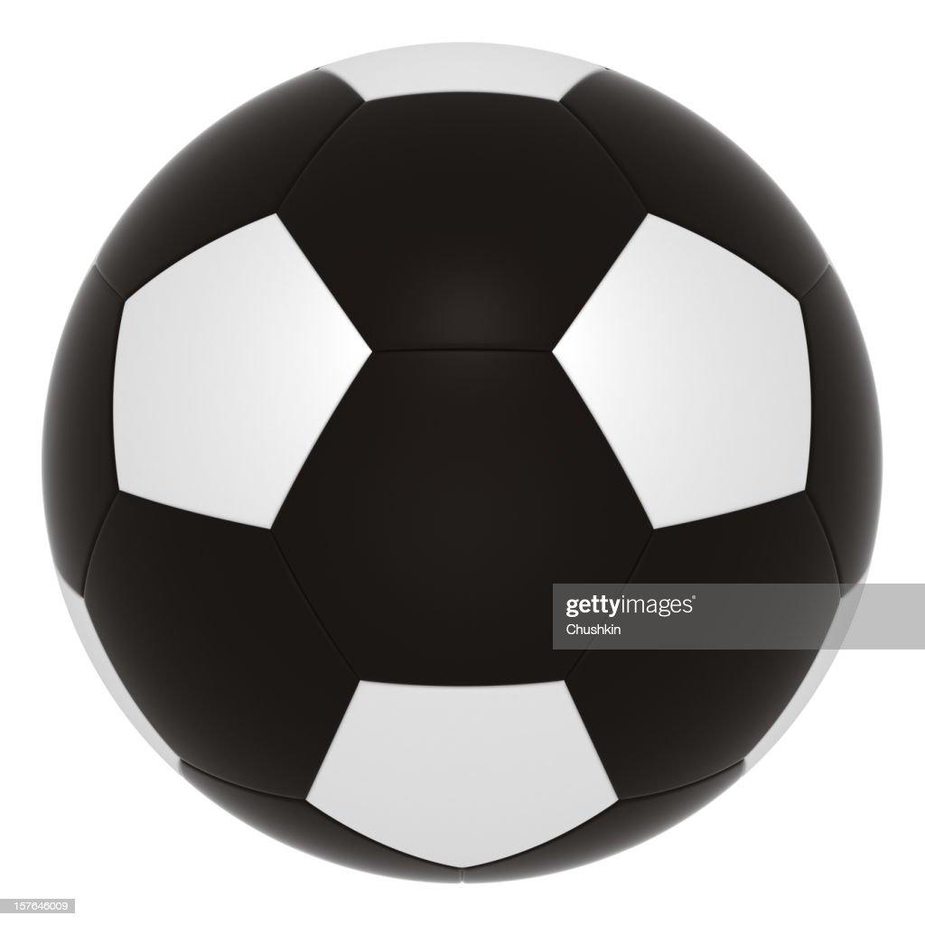 ブラックのフットボール : ストックフォト