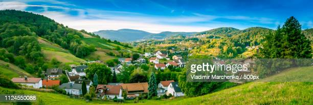 black forrest valley village - baden württemberg stock pictures, royalty-free photos & images