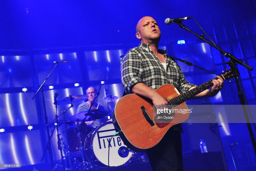 Black Francis and Dave Lovering of The Pixies perform live on stage on Day 25 of iTunes Festival 2013 at The Roundhouse on September 25, 2013 in London, England.