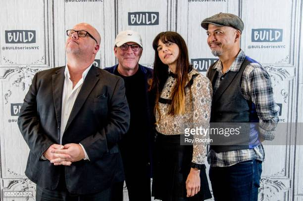 Black Francis David Lovering Paz Lenchantin and Joey Santiago of the Pixies discuss Head Carrier with the Build Series at Build Studio on May 24 2017...