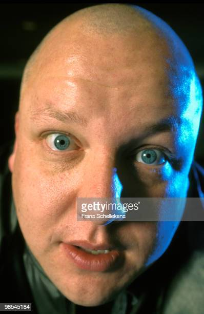 Black Francis from The Pixies posed in Amsterdam, Netherlands on January 11 1996