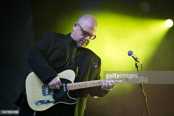 Black Francis of Pixies performs at Iveagh Gardens on July 14 2016 in Dublin Ireland