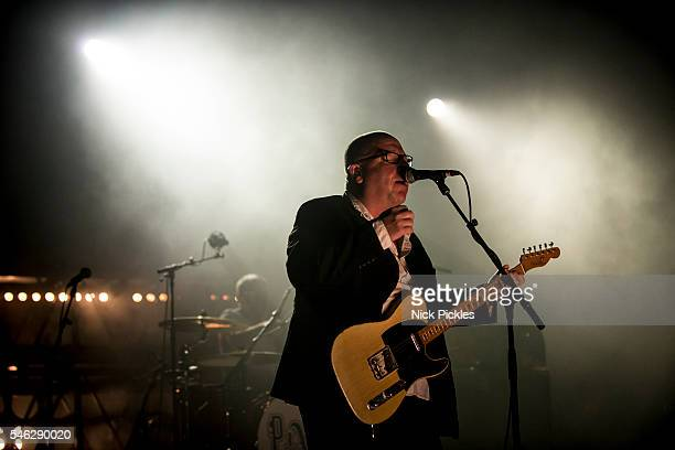 Black Francis of Pixies performs at O2 Academy Brixton on July 11 2016 in London England