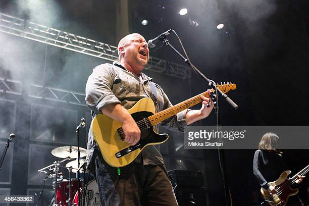Black Francis of Pixies performs at The Masonic Auditorium on September 30 2014 in San Francisco California