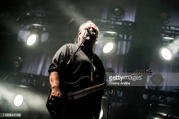 Black Francis of Pixies performs on stage at Coliseum A Coruña on October 26 2019 in A Coruna Spain