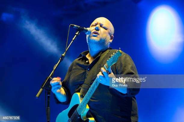 Black Francis of Pixies performs on stage during RockN'Roller Festival at Bloomfield Stadium on June 17 2014 in Tel Aviv Israel