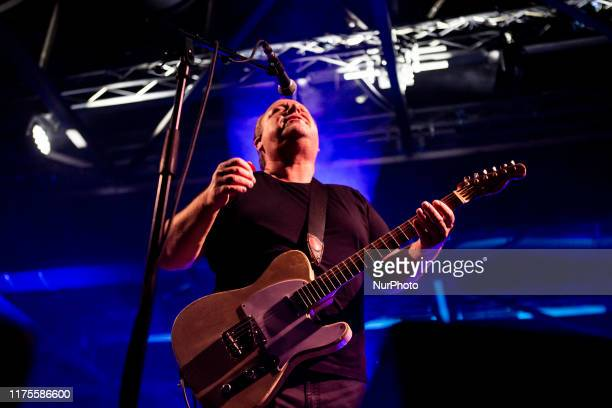 Black Francis of the american alternative rock band Pixies performing live at OGR Turin Italy