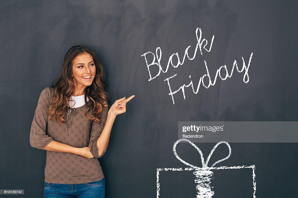 Black Friday : Stock Photo