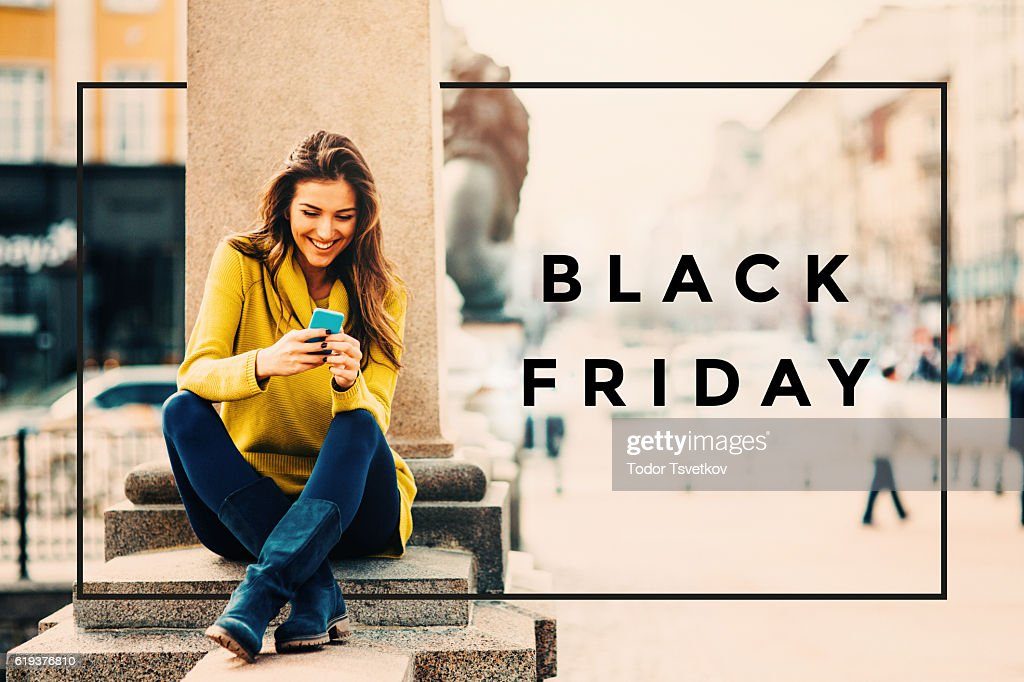 Black Friday : Stock Photo