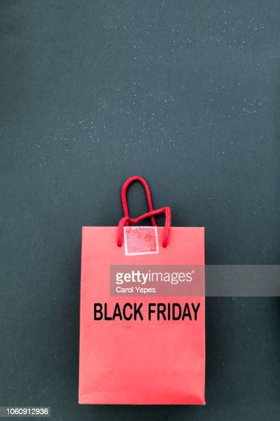 black friday sale in red and black - black friday stock photos and pictures
