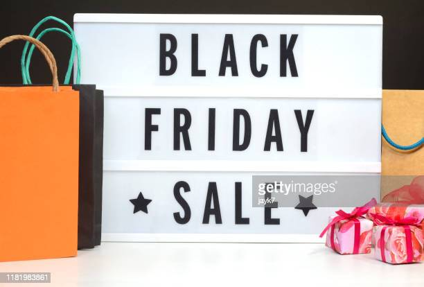 black friday sale - black friday stock photos and pictures