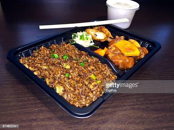 Black Fried Rice Bento
