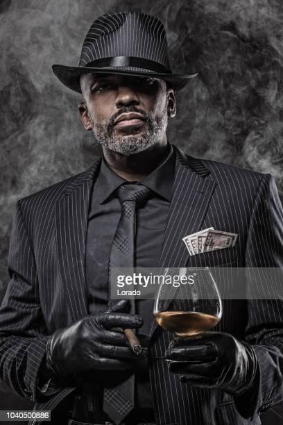 Black Gangster Man