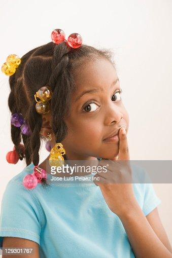 Black Label Price >> Black Girl Making Shhh Gesture Stock Photo | Getty Images