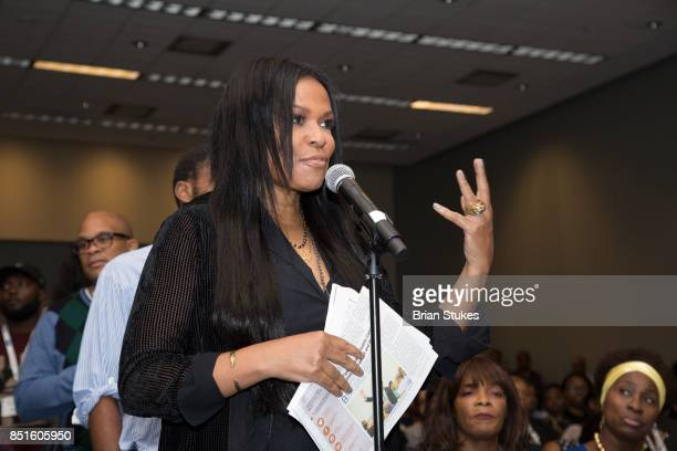 Black Girls Rock Founder Beverly Bond attends 'Reclaiming My Time' at Walter E Washington Convention Center on September 22 2017 in Washington DC