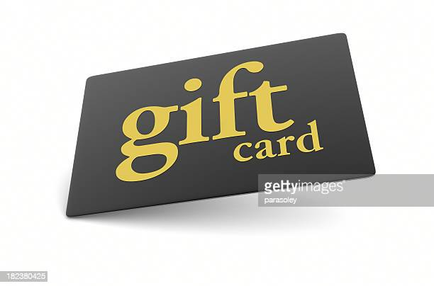 black gold gift card - gift card stock photos and pictures