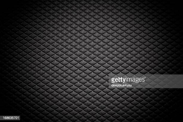 black grid background - leather stock photos and pictures
