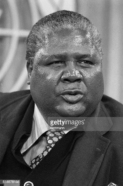 Black guerrilla leader Joshua Nkomo is at the United Nations March 8th to offer his views on the Rhodesian situation. Along with Robert Mugabe, his...