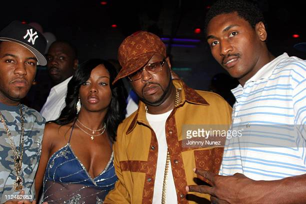 Black Hand Buffie The Body DJ Kay Slay and Ron Artest