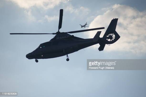 black hawk cloudscape - helicopter photos stock pictures, royalty-free photos & images