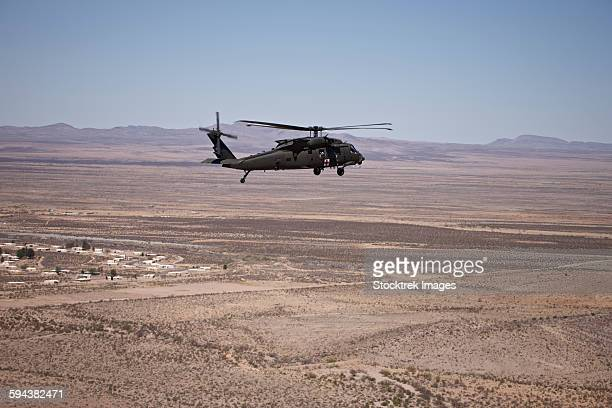 UH-60 Black Hawk en route to New Mexico durin Exercise Angel Thunder.