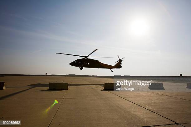UH 60, Black Hawk landing