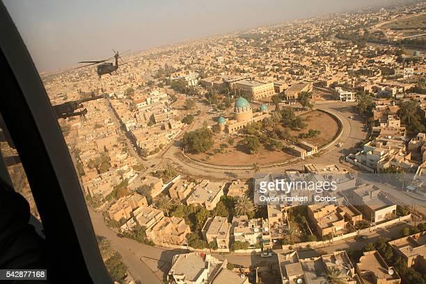 Black Hawk over Baghdad