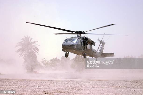 black hawk - military helicopter stock photos and pictures