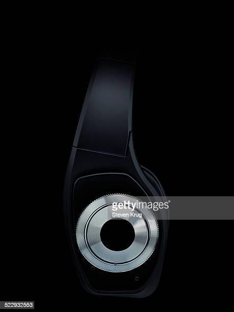 Black Headphones On Black