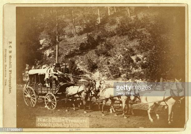 Black Hills treasure coach John C H Grabill was an american photographer In 1886 he opened his first photographic studio