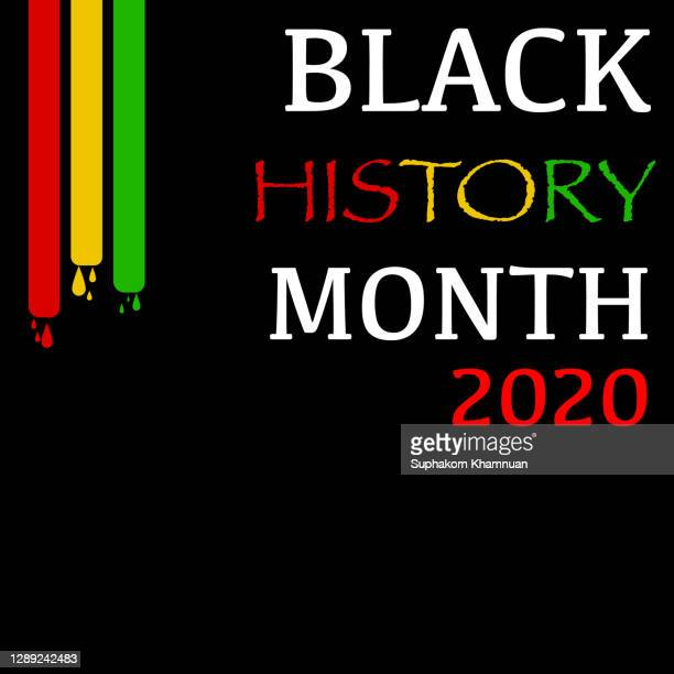 black history month concept isolated on white background. - black history month stock pictures, royalty-free photos & images