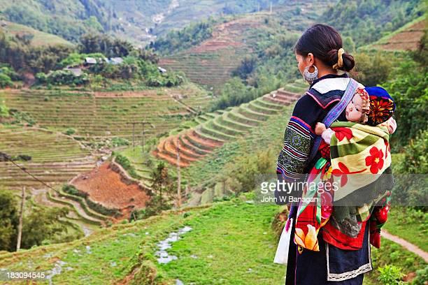 Black Hmong woman ,Sa Pa, Vietnam