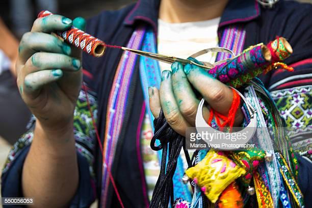 Black Hmong Woman's Hand