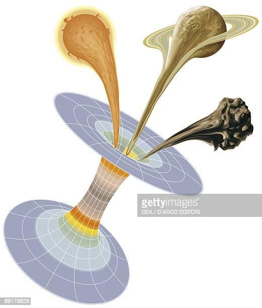 Black hole structure astrophysics diagram