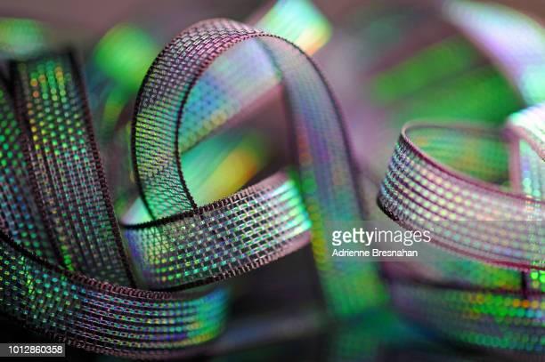 Black Holographic Ribbon