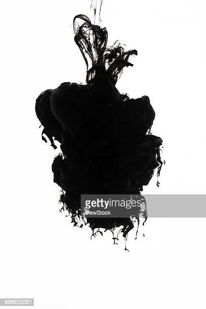 Black ink in the water