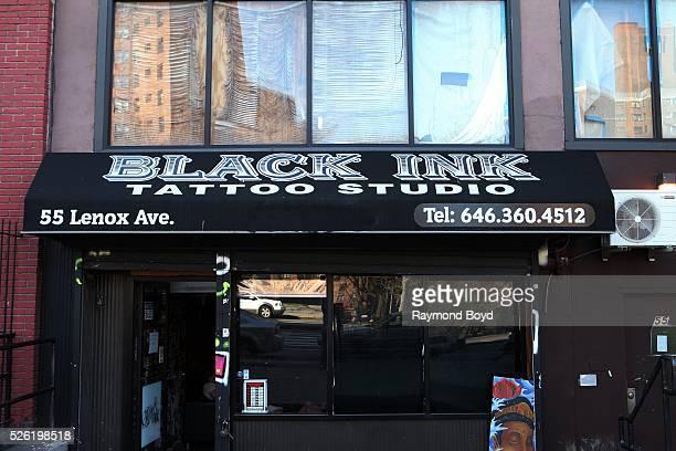 Black Ink tattoo studio home of VH1's television show 'Black Ink Crew' in Harlem New York on April 16 2016