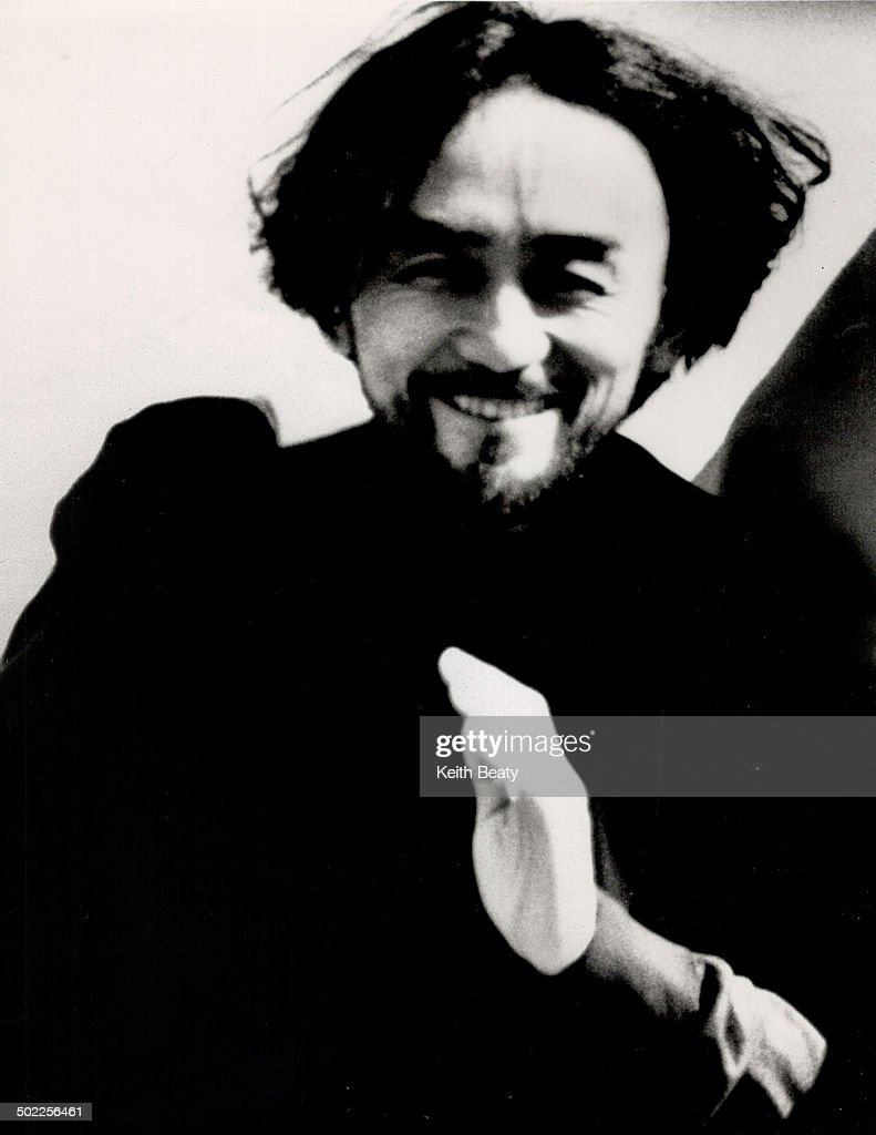 Black is beautiful: Tokyo's Yohji Yamamoto; left; designs 2;400 garments a year for his various line : News Photo