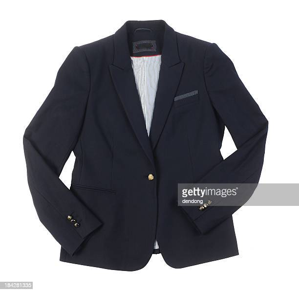 black jacket - blazer jacket stock photos and pictures