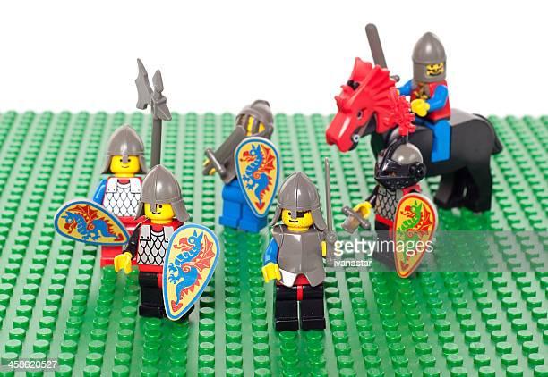 レゴ 1992 ブラックの騎士の人物