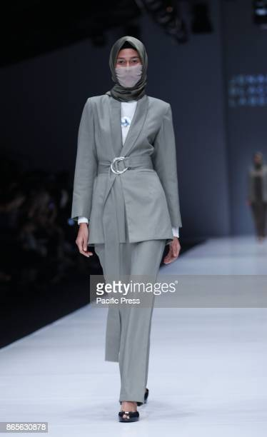 Black Label by Jenahara during Jakarta Fashion Week 2018