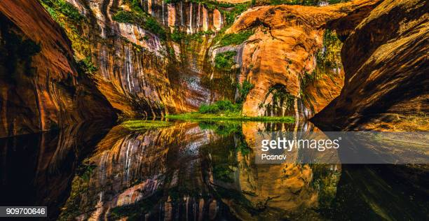 black lagoon - grand staircase escalante national monument stock pictures, royalty-free photos & images